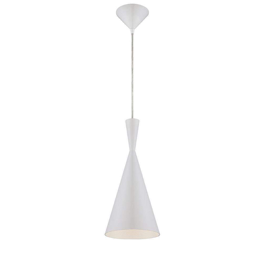 Eurofase Bronx Collection 1 Light White Pendant