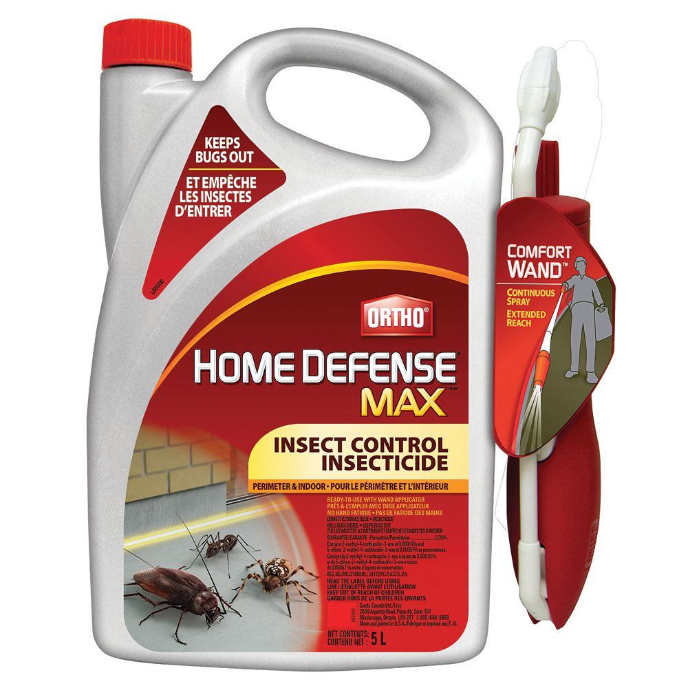 Ortho Home Defense Max Perimeter Indoor Insect Control 5 L The Home Depot Canada