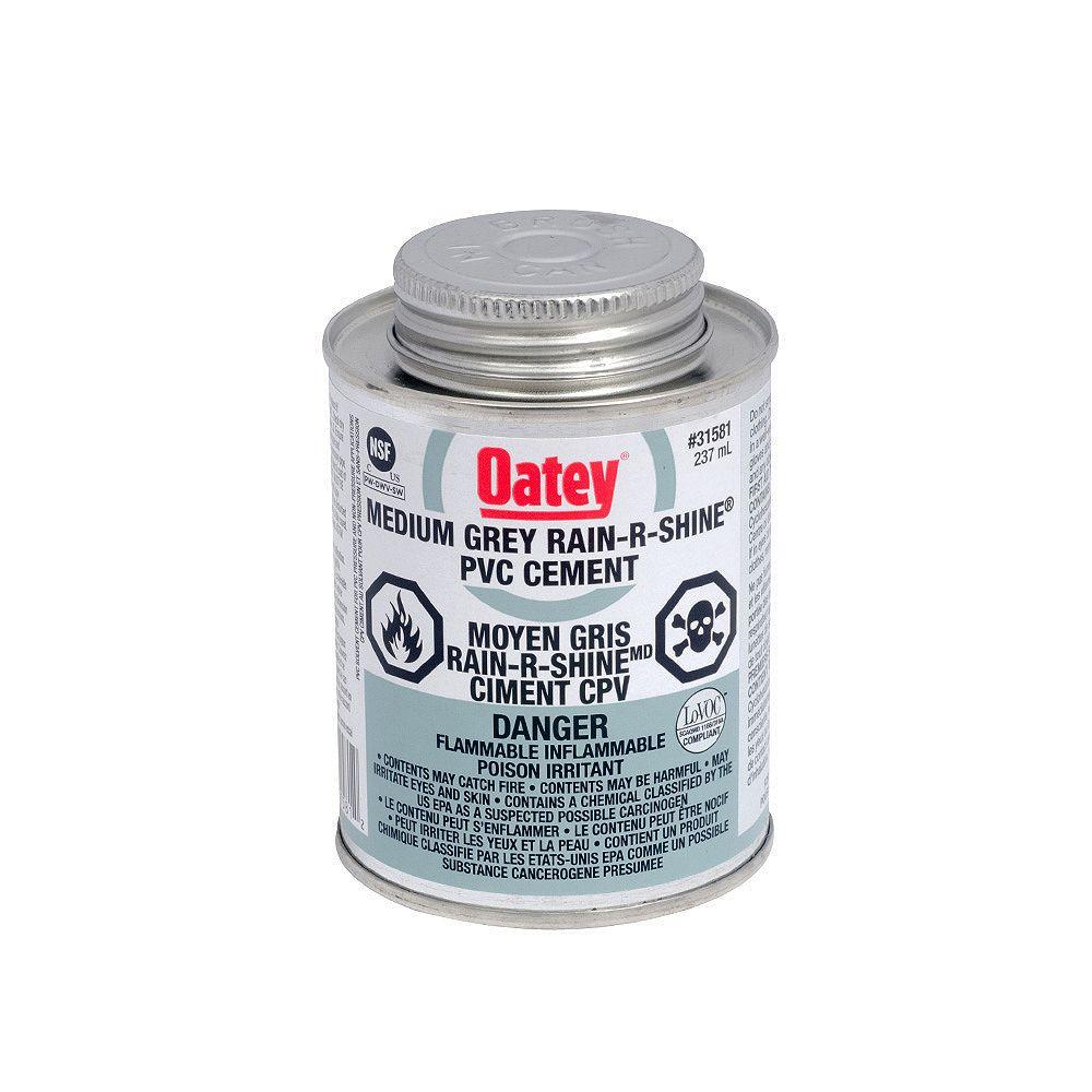 Oatey 236 Ml Pvc Cement Rain R Shine (C)