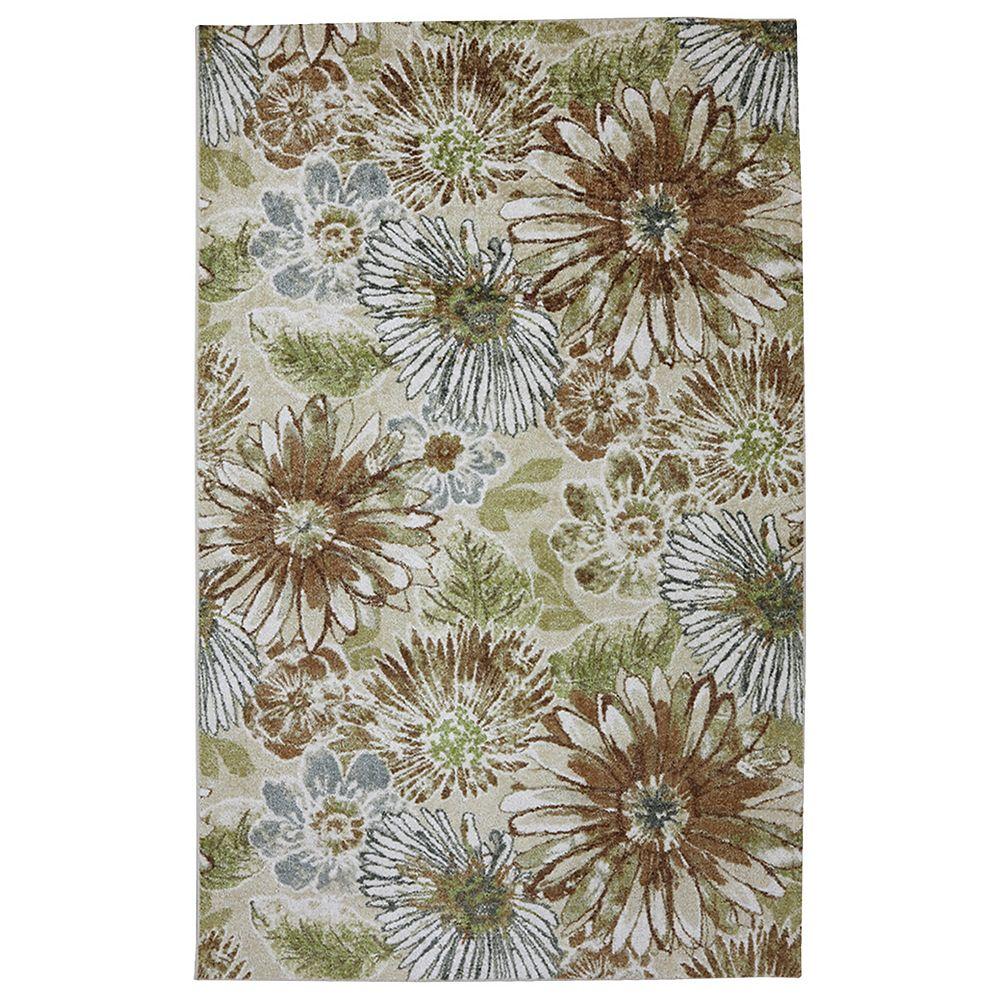 Mohawk Home Carpette, 8 pi x 10 pi, rectangulaire, multicolore Sunburst Floral