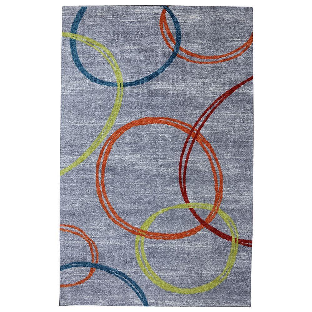 Mohawk Home Carpette, 8 pi x 10 pi, rectangulaire, multicolore Sleek
