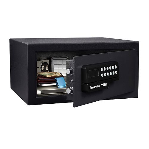 Sentry Safe Access Card Safe - 1.0 cu. pi, noir