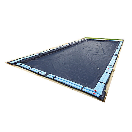 20 ft. x 40 ft. Rectangular In-Ground Pool Winter Cover