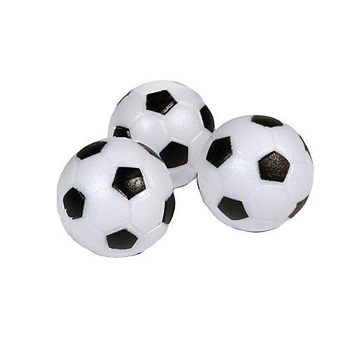 Balles Foosballs pour table de jeu de soccer, ensemble de trois balles