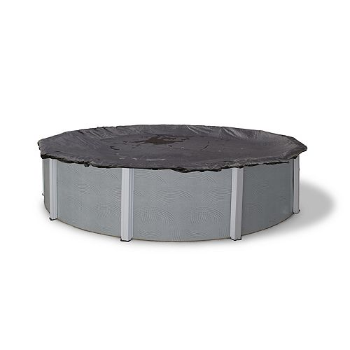 Blue Wave 24 ft. Round Rugged Mesh Above-Ground Pool Winter Cover