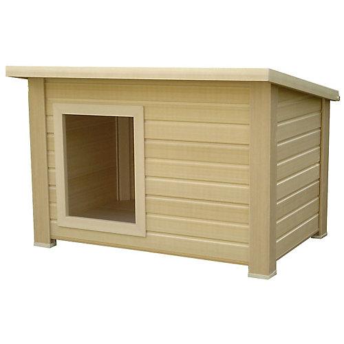 Ecoconcepts Rustic Lodge Dog House