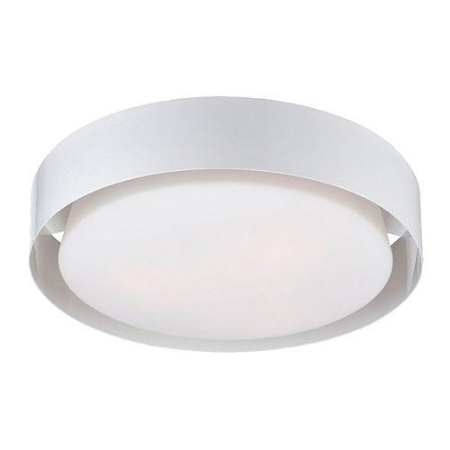 Eurofase Saturn Collection 3 Light White Flushmount