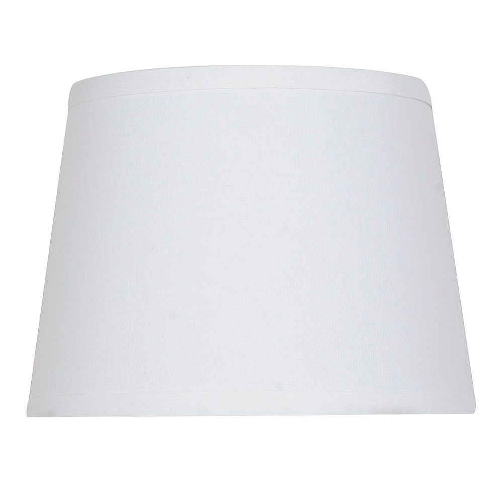 Hampton Bay Mix and Match 10 inch x 7.5 inch Cream Round Accent Lamp Shade
