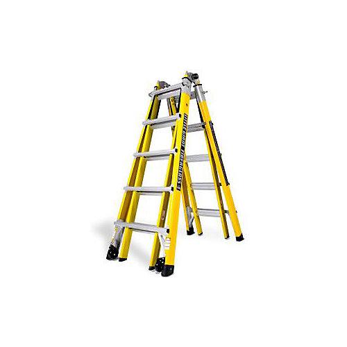 Fiberglass Multi Postion Ladder - 22 Feet