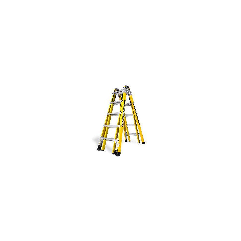 Little Giant Ladder Systems Échelle en fibre de verre à positions multiples de 22 pi.