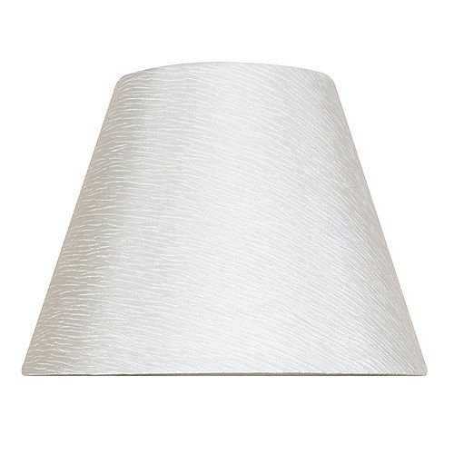 Abat-jour de lampe de table Empire Blanc cassé Mix & Match 13 po x 10 po