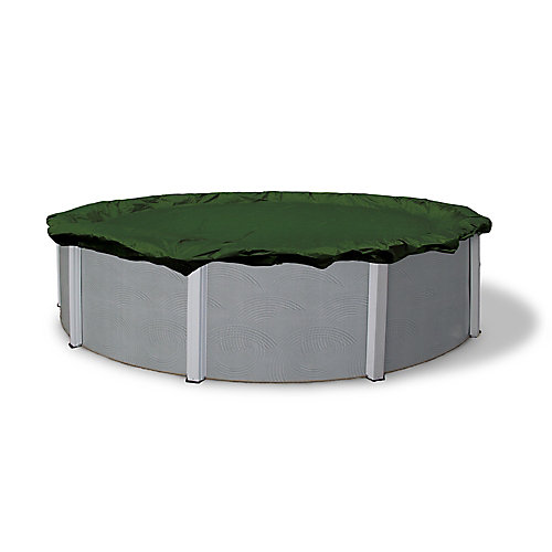 12-Year 18 ft. x 34 ft. Oval Above-Ground Pool Winter Cover