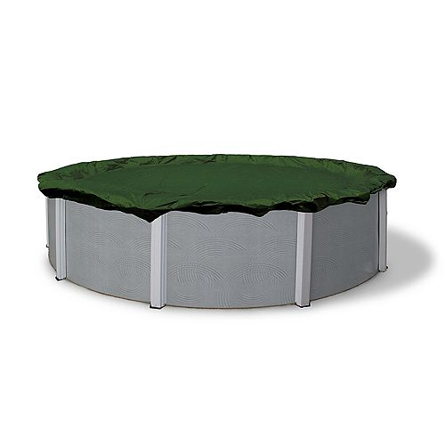 Blue Wave 12-Year 15 ft. x 30 ft. Oval Above-Ground Pool Winter Cover