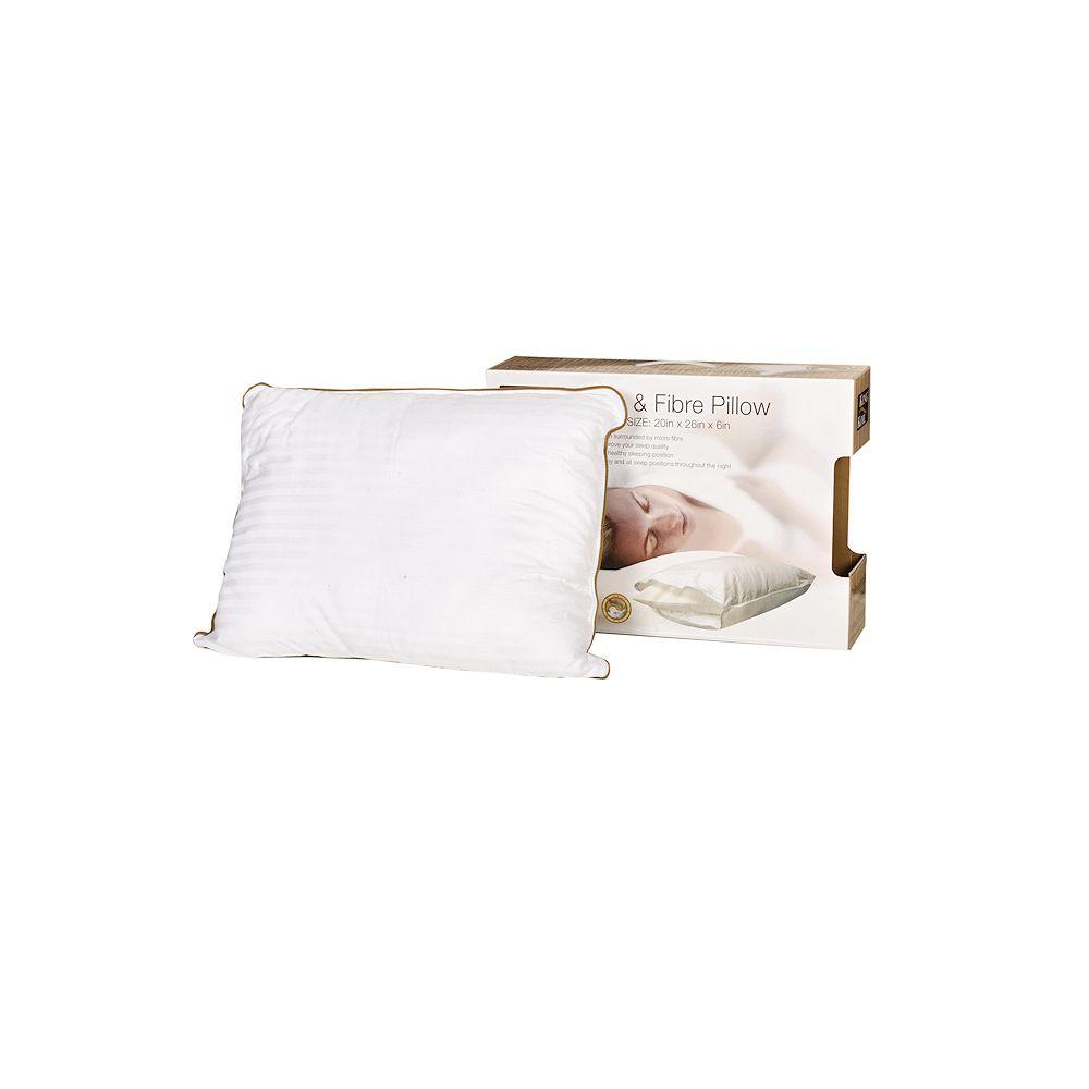 King Koil Dual Comfort Memory Foam and Fibre Pillow