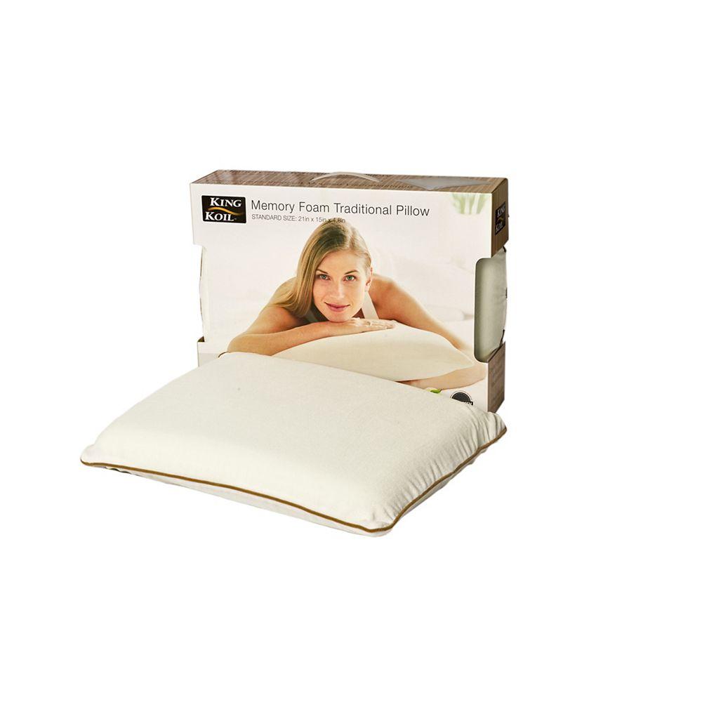 King Koil Traditional Memory Foam Pillow