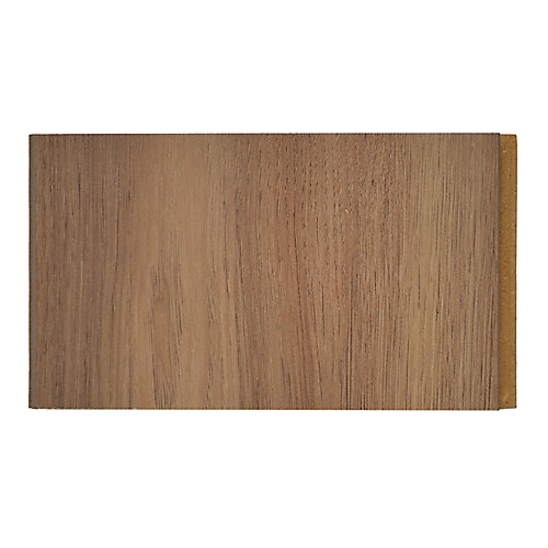 10mm Thick x 4-inch x 4-inch Driftwood Laminate Flooring (Sample)