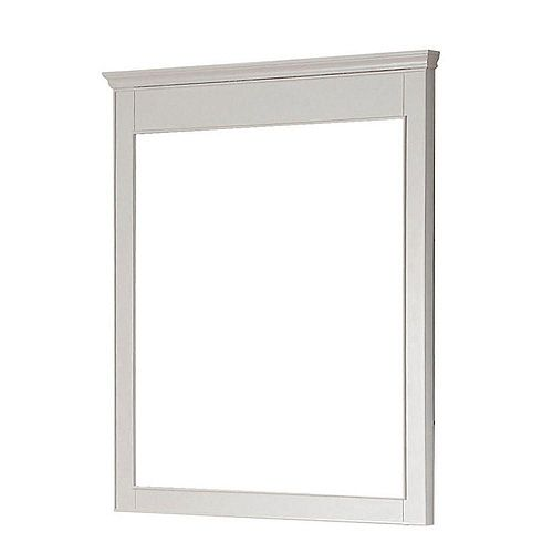 Miroir Windsor de 30po blanc