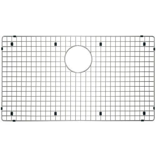 Grille d'évier Precision 30X16, acier inoxydable