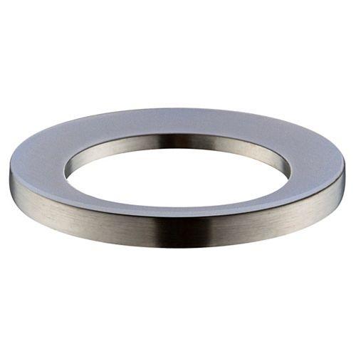 Vessel Sink Mounting Ring in Brushed Nickel