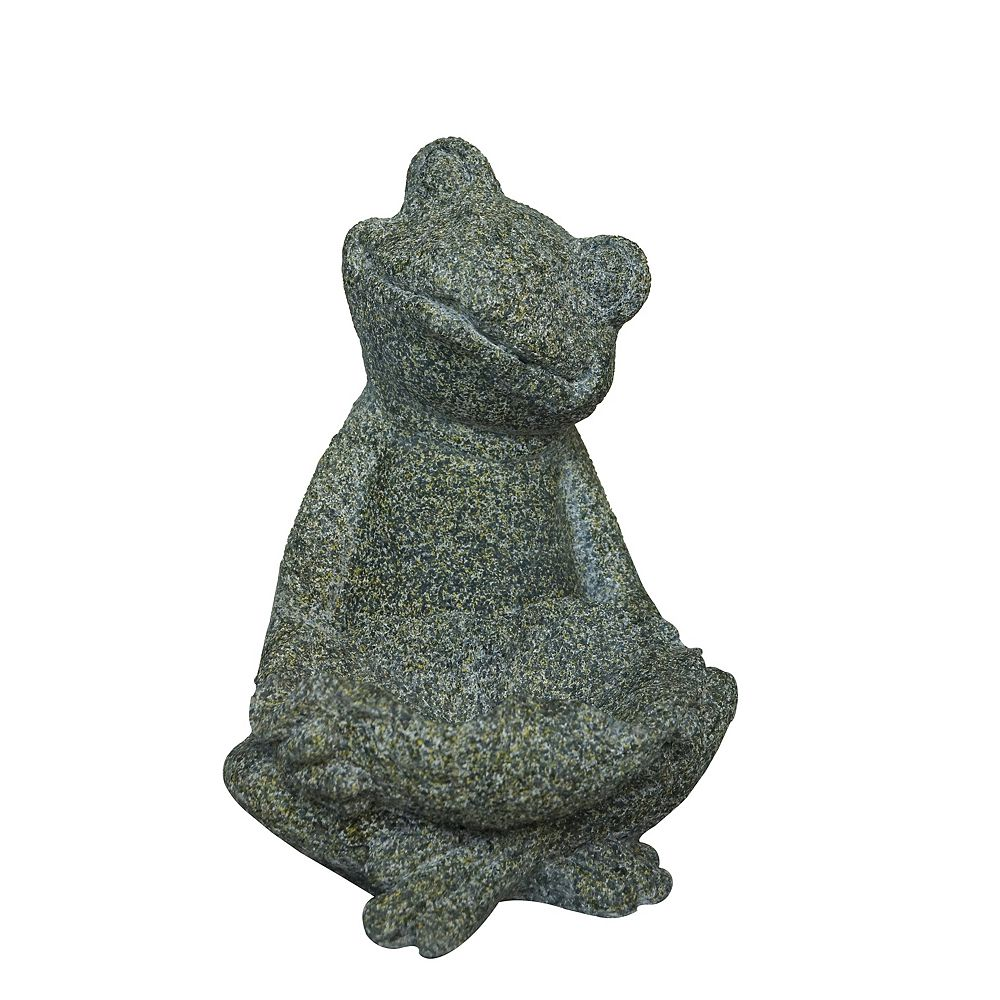 Angelo Décor Sitting Frog Statue