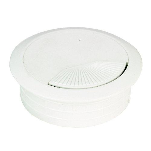 Round Wire Grommet - White