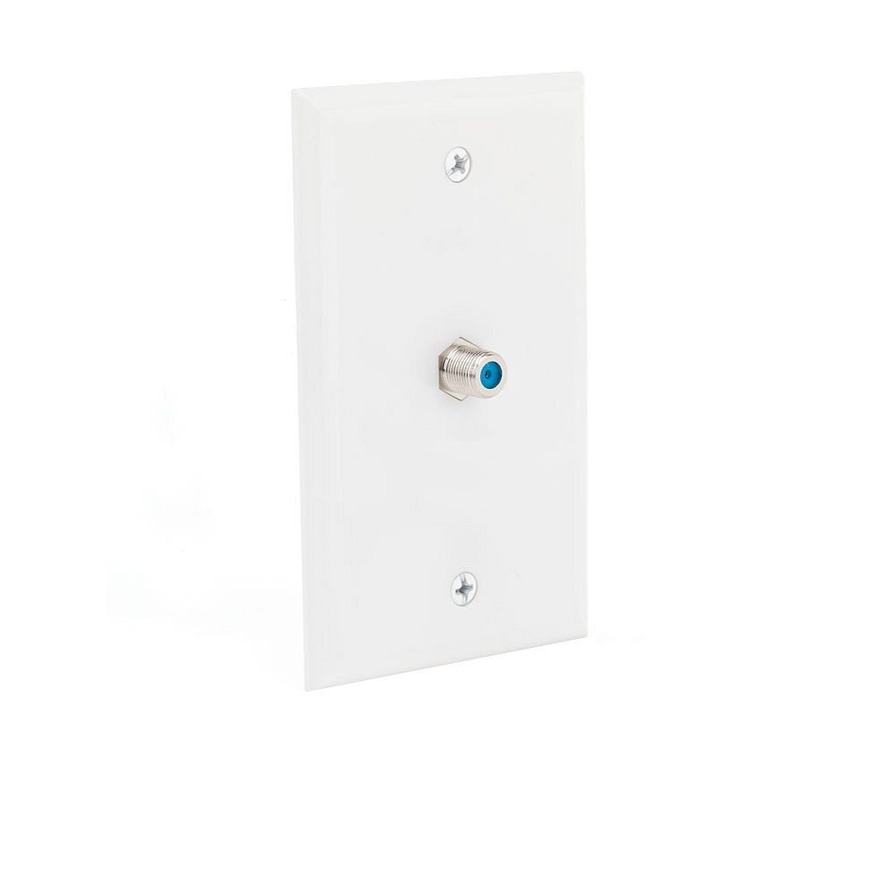 Commercial Electric Coaxial Wall Plate