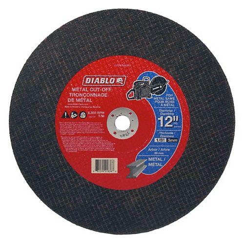 High-Speed Cut-Off Disc 12 x 1/2
