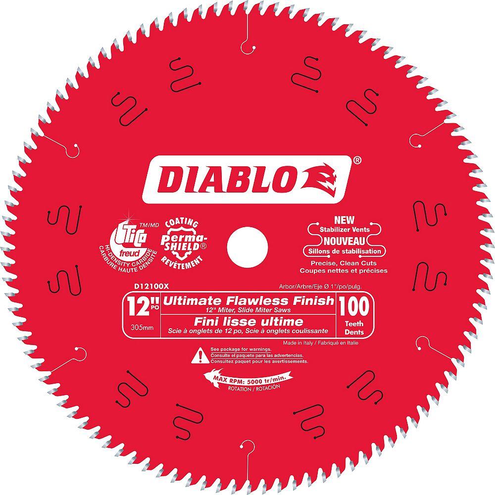 Diablo 12-inch Ultra Fine Finish Blade
