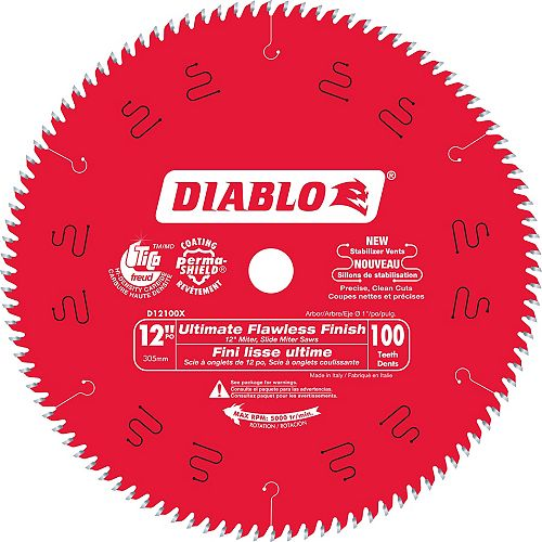 12-inch Ultra Fine Finish Blade
