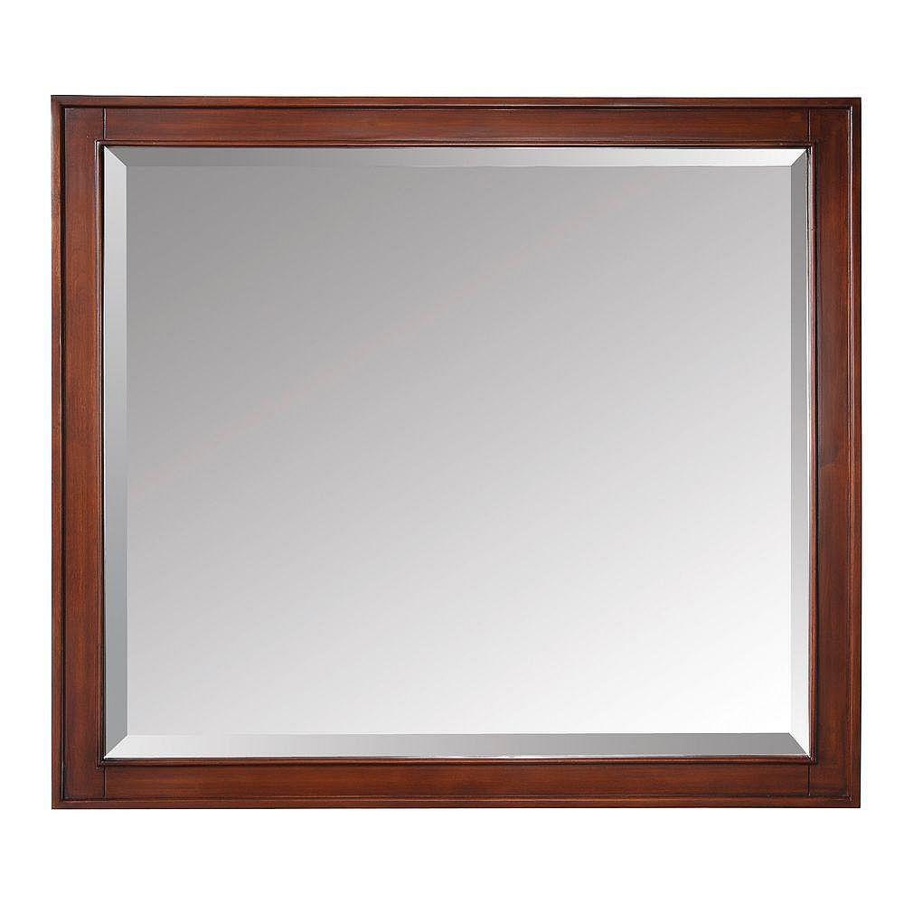 Avanity Miroir Madison de 36po au fini tabac