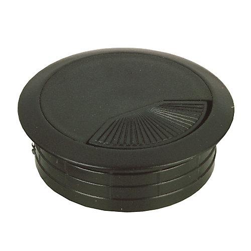 Round Wire Grommet - Black