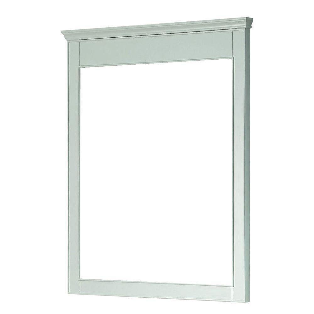 Avanity Miroir Windsor de 34 po blanc