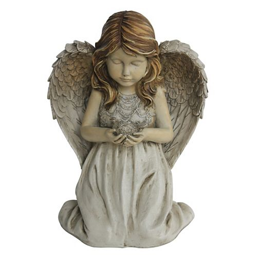 Beth Kneeling Angel Statue