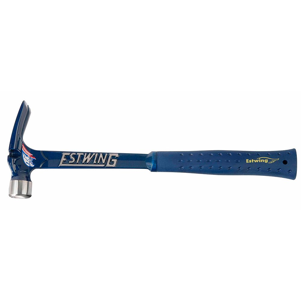 Estwing 19 Oz Blue Vinyl Gripped Ultra Framing Hammer With Milled Face