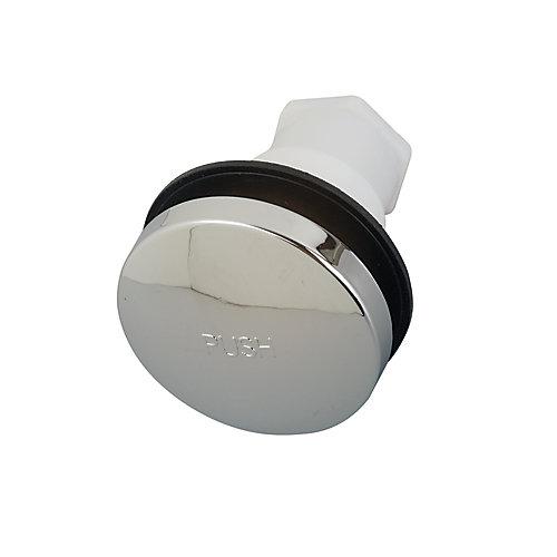 Bouchon de bonde de baignoire escamotable - 6 mm