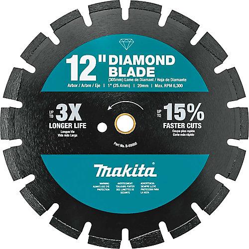 12-inch Segmented Dual Purpose Diamond Blade