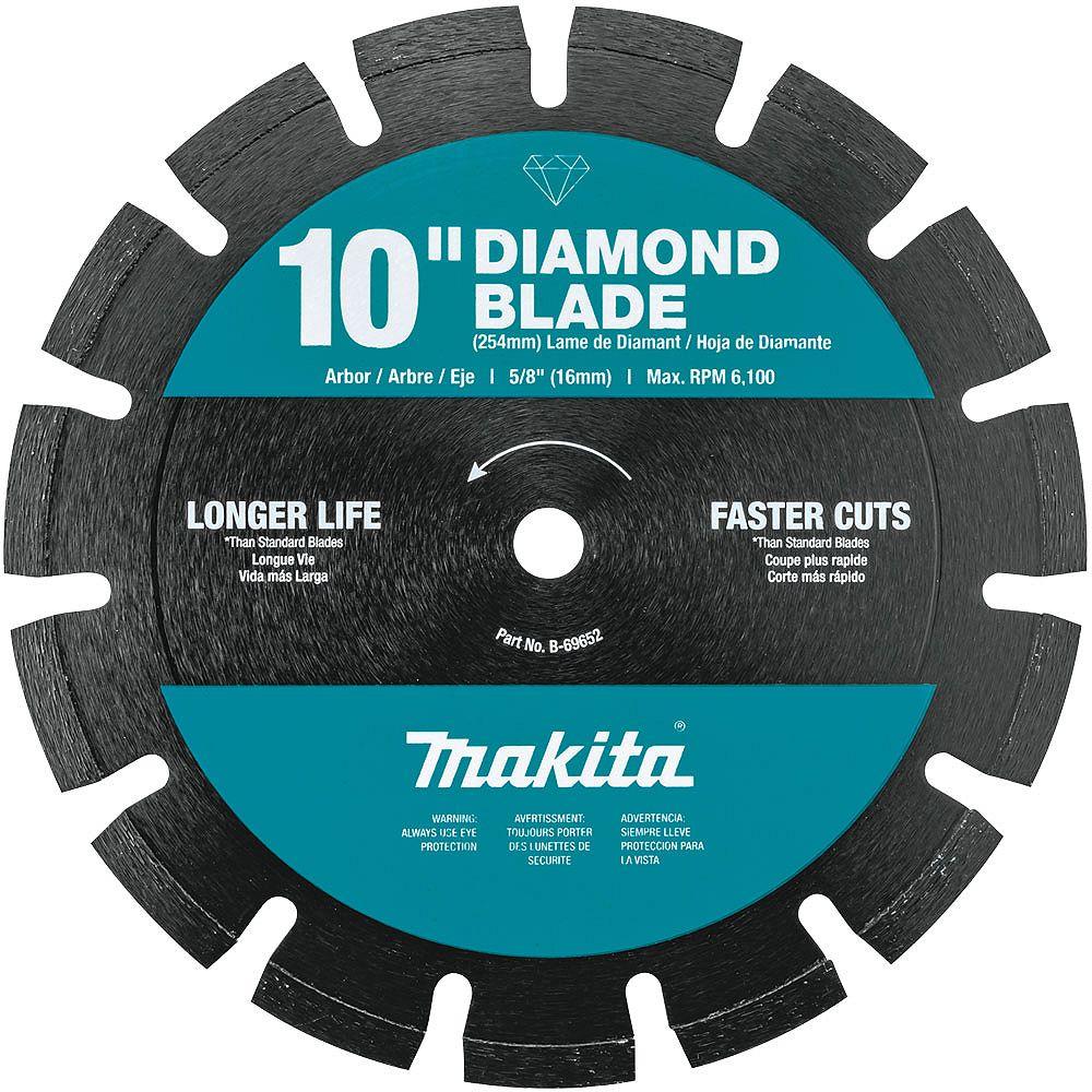 MAKITA 10-inch Segmented Dual Purpose Diamond Blade