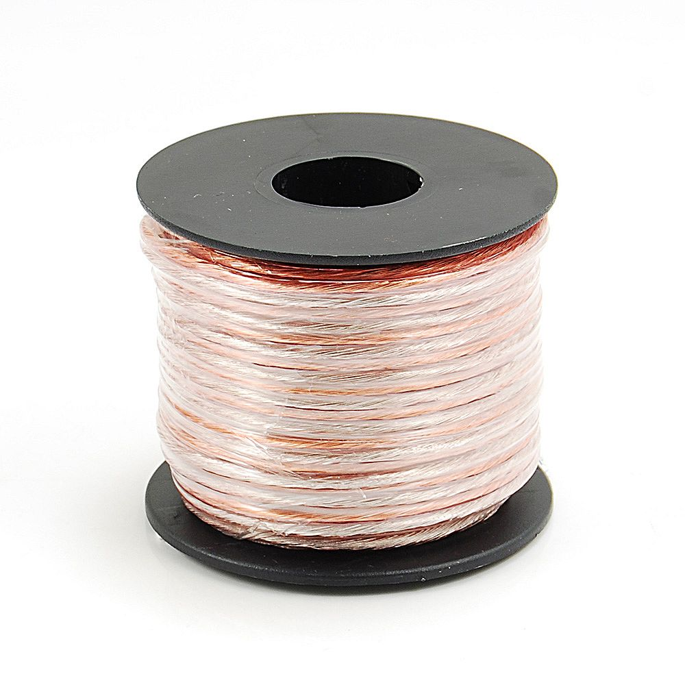 Commercial Electric 50 ft. 18-Gauge Speaker Wire
