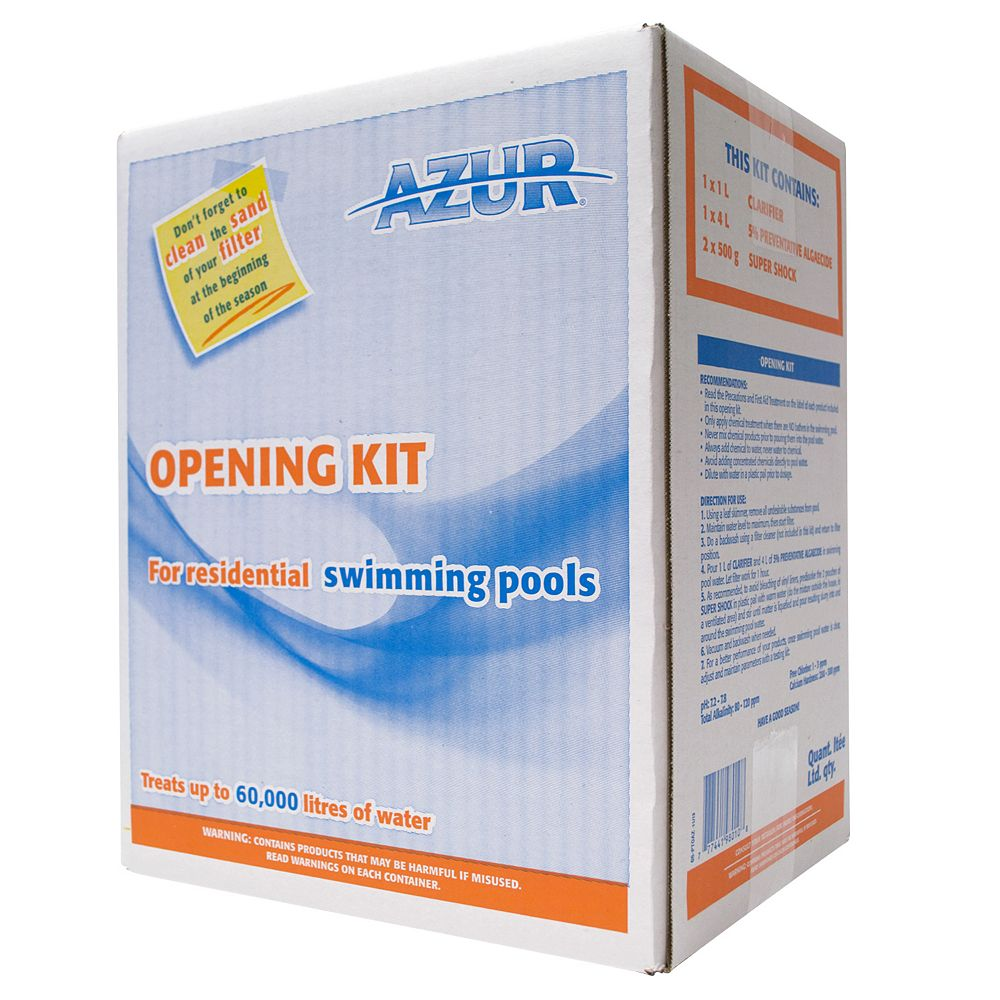 Azur Opening Kit For Swimming Pools The Home Depot Canada