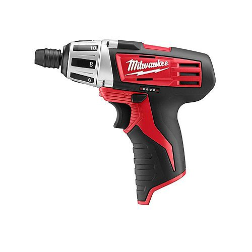 Milwaukee Tool M12 12V Lithium-Ion Cordless 1/4-inch Hex Screwdriver (Tool Only)