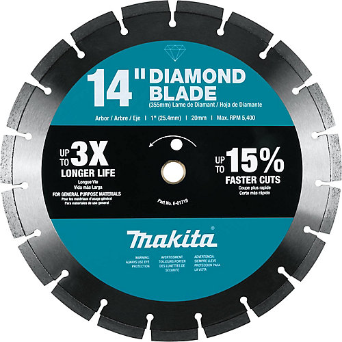 14-inch Segmented Rim General Purpose Diamond Blade