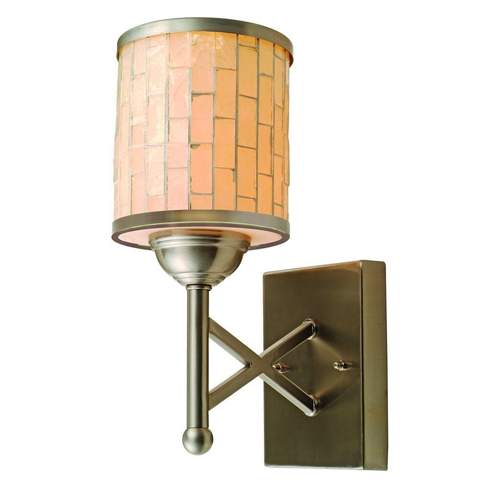 Catalina Lighting Collection Metropolis,   chandelier d'applique à 1 lampe en mosaïque