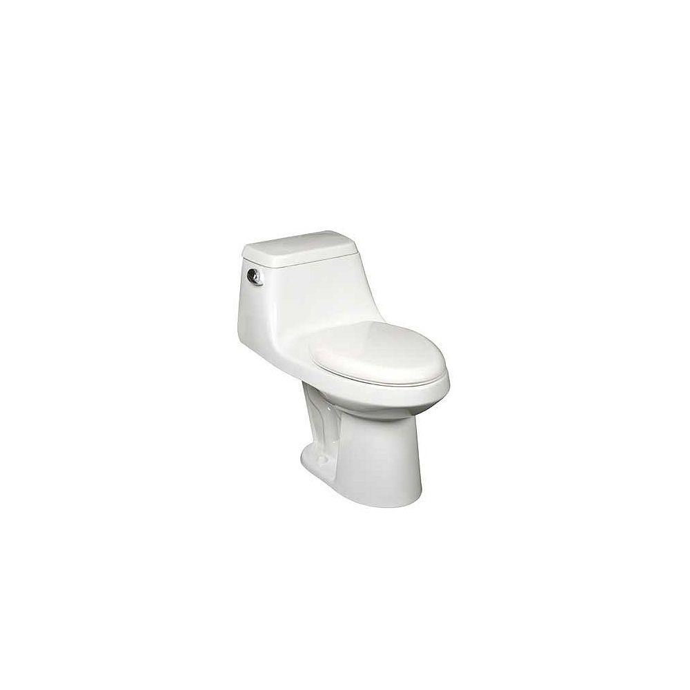 Mansfield Le Agean - un 1 pièce Toilette allongée par Mansfield (en blanc)