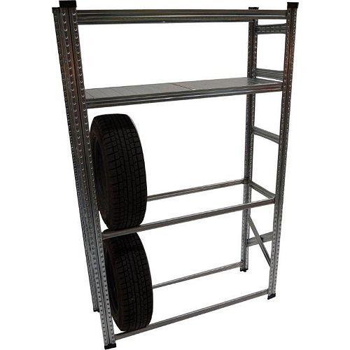 Heavy Duty Tire Rack and Shelving Kit