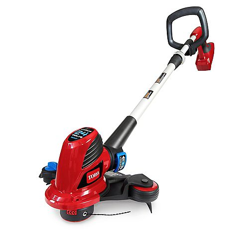 12-inch 24V Electric Li-Ion Shaft Trimmer and Edger