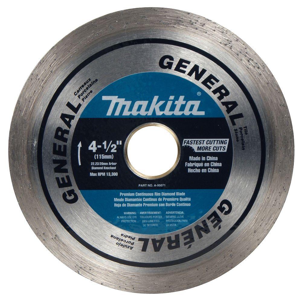 MAKITA 4 1/2-inch Continuous General Purpose Blade