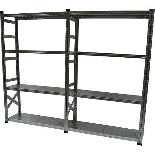 Heavy Duty Basic Shelving Kit with Add On Shelf