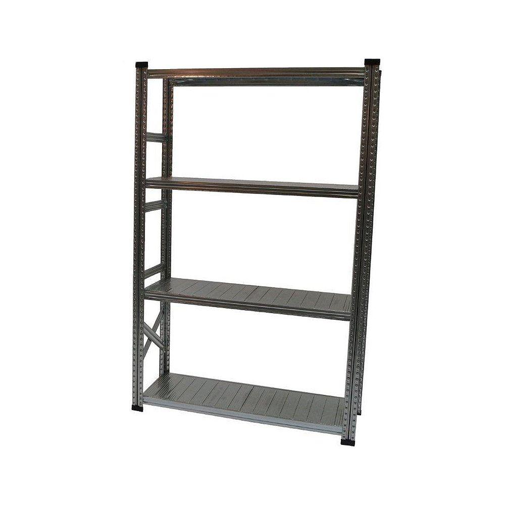 Metalsistem Système d'étagères de base de fabrication robuste standalone