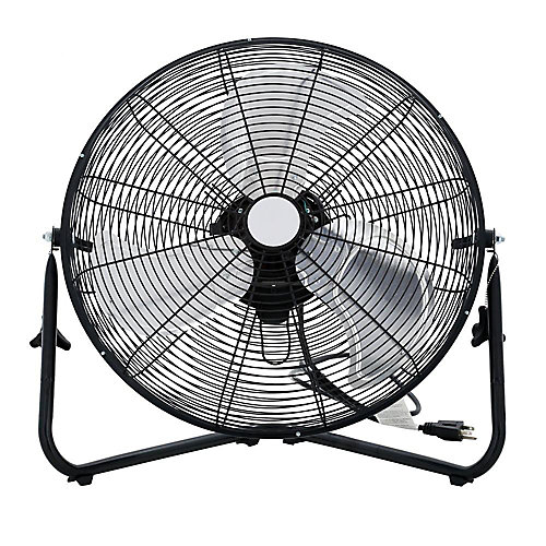 20-inch 3-Speed High-Velocity Floor Fan