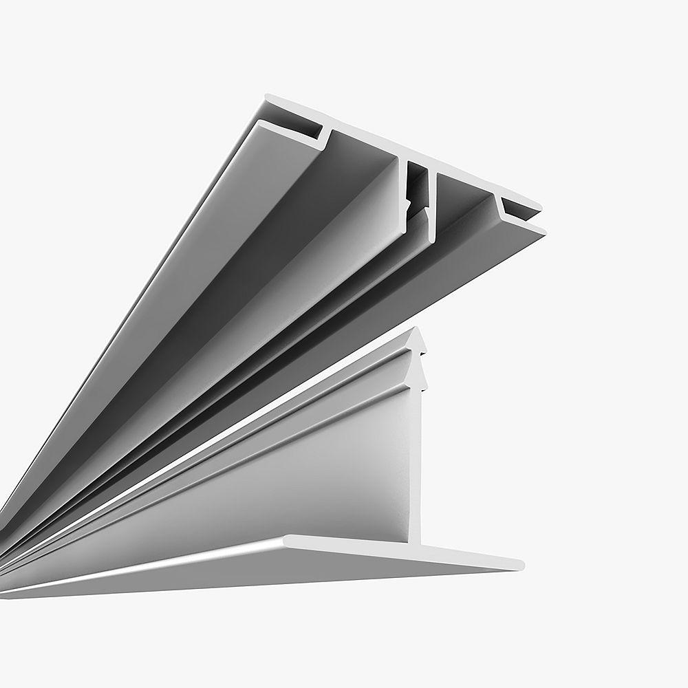 Ceilingmax Surface Mount Kit White - 100 Square Feet